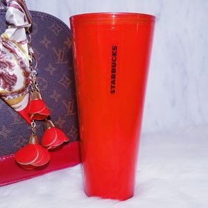 Starbucks Coffee Red Heart Cup Tumbler